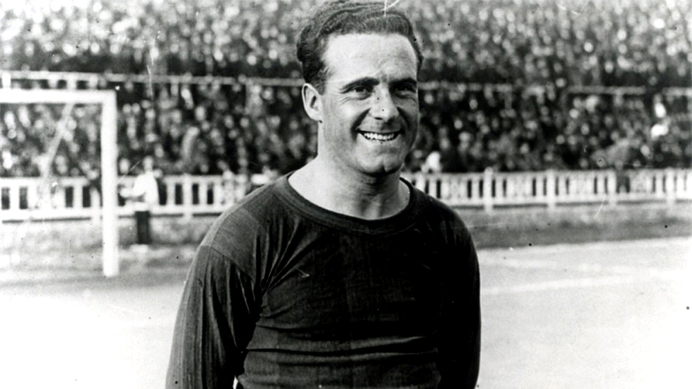 Héctor Scarone contro l'Argentina