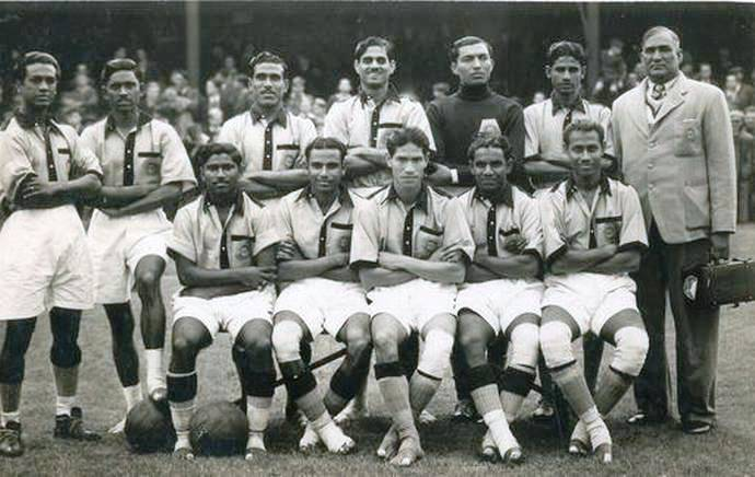 India_national_team_at_Olympics_1948