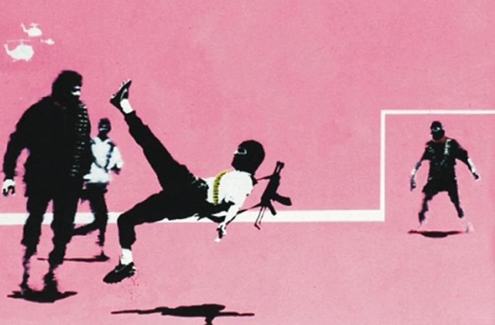 Banksy e ilcalcio