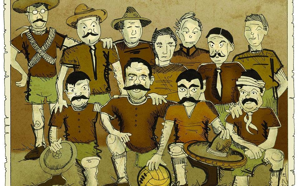 Pancho Villa, Zapata e il calcio nel Messicorivoluzionario